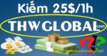 Kiếm tiền ngược với Youtube – Xem video trên THWGlobal và kiếm 25USD/giờ