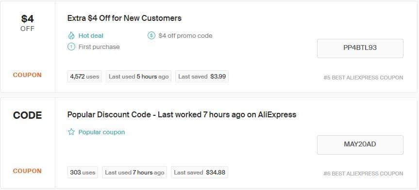 Aliexpress-coupon-code
