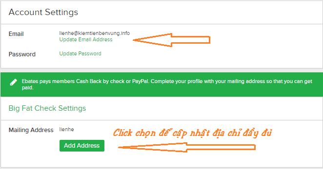 Cách đăng ký Ebates cashback đơn giản nhất