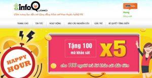 Khảo sát kiếm thẻ cào InfoQ